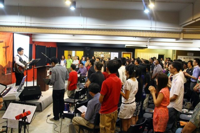Sundays at Christ Evangelical Reformed Church